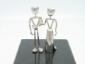 06 - Wedding Couple on Marble Base - front view- slim dress.jpg
