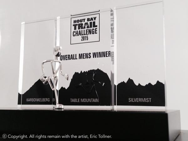 Hout Bay Trail Challenge trophies