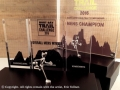 The Hout Bay Trail Challenge trophies